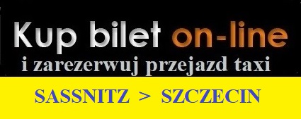 Taxi Sasnitz Szczecina przejazdy ze Szczecina