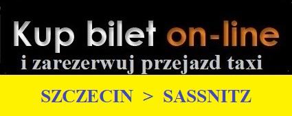 Szczecin Sasnitz przejazdy ze Szczecina